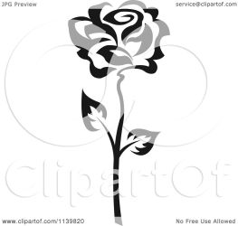 rose vector clipart flower illustration royalty tradition sm