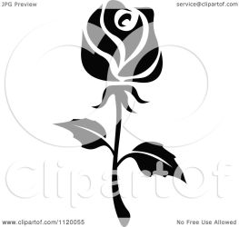 rose flower clipart vector illustration royalty graphics tradition sm seamartini