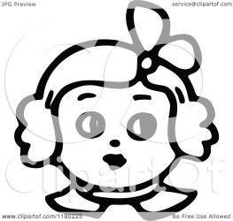 face sketched illustration clipart royalty prawny vector