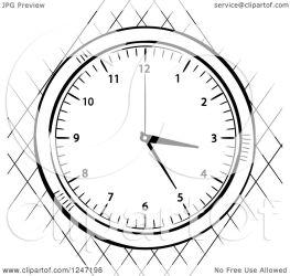 clipart sketched stop illustration elaineitalia royalty vector