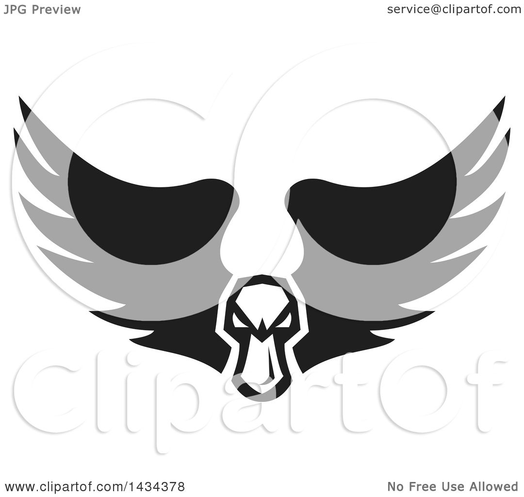 clipping duck wings diagram basic car electrical wiring diagrams clipart of a black and white tough angry mallard head