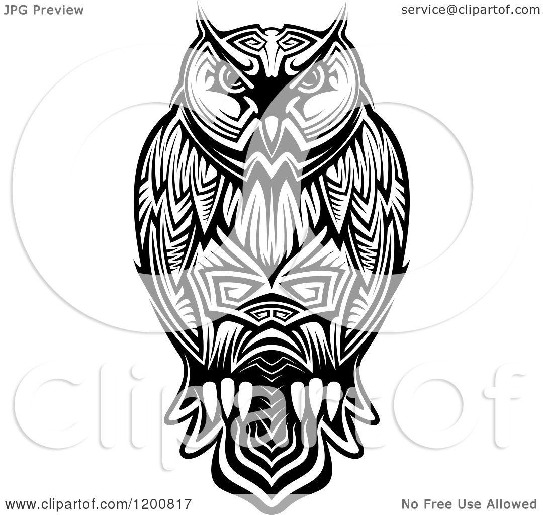 Owl Vector Clipart Royalty Free Owl Clip Art Vector