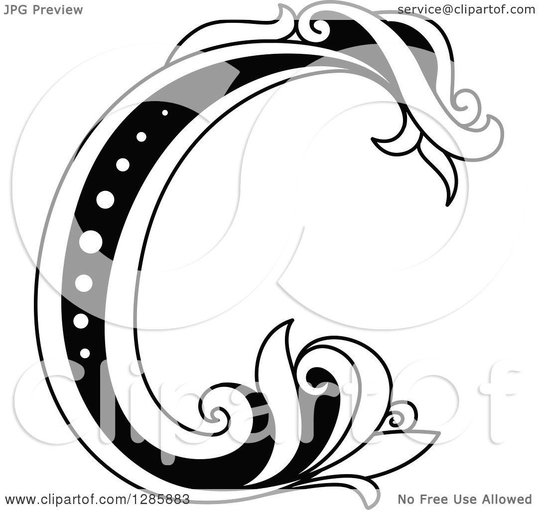 Pin Capital Letter C Tattoo Design on Pinterest