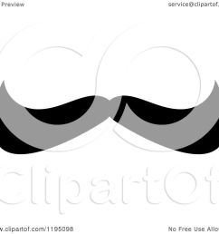 clipart of a black moustache 11 royalty free vector illustration by vector tradition sm [ 1080 x 1024 Pixel ]