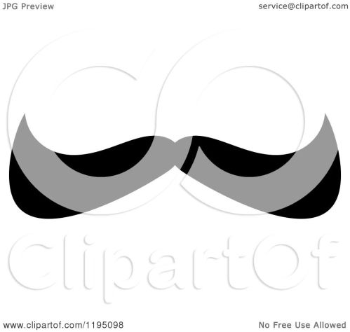 small resolution of clipart of a black moustache 11 royalty free vector illustration by vector tradition sm