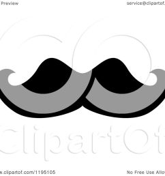 clipart of a black moustache 6 royalty free vector illustration by vector tradition sm [ 1080 x 1024 Pixel ]