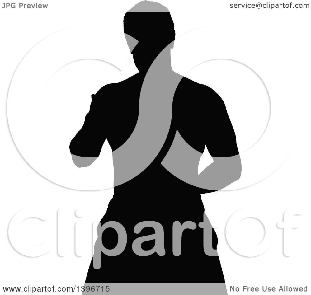 medium resolution of clipart of a black sihhouetted man working out royalty free vector illustration by dero