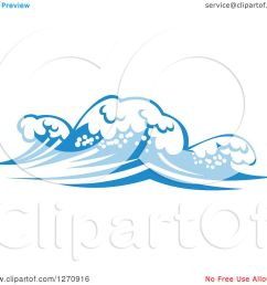 clipart of a blue ocean surf waves 15 royalty free vector illustration by vector tradition [ 1080 x 1024 Pixel ]