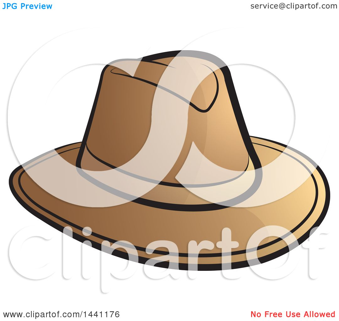 hight resolution of clipart of a brown cowboy hat royalty free vector illustration by lal perera
