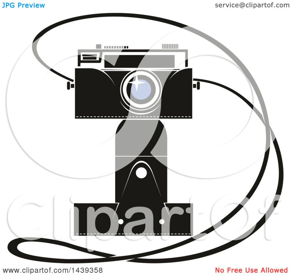 medium resolution of clipart of a camera and strap royalty free vector illustration by vector tradition sm
