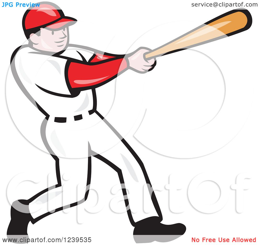 hight resolution of  free baseball batter clipart