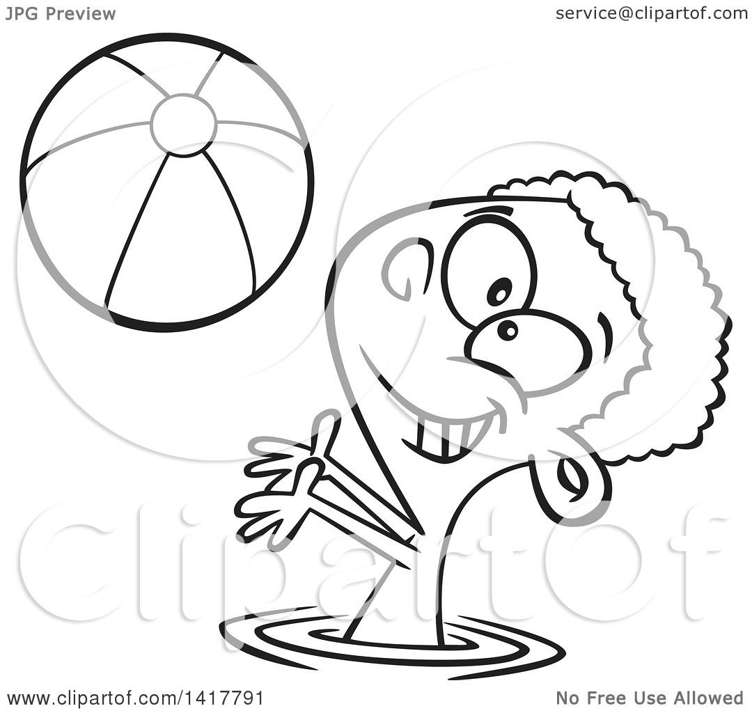 Clipart Of A Cartoon Black And White African American Boy