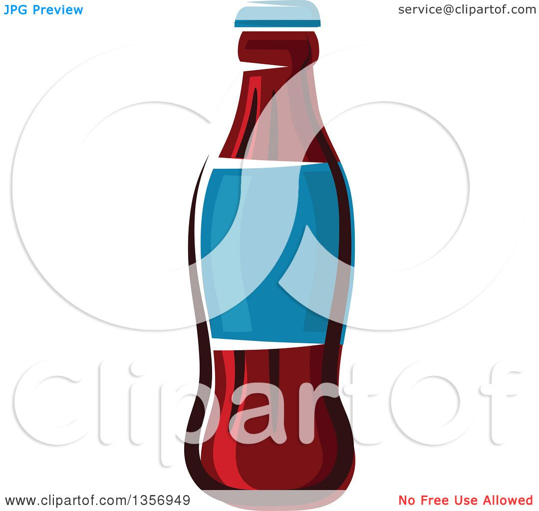 hight resolution of clipart of a cartoon soda bottle royalty free vector illustration by vector tradition sm