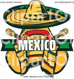 clipart of a cinco de mayo viva mexico design with a sombrero and poncho royalty [ 1080 x 1024 Pixel ]