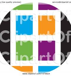 clipart of a colorful window design royalty free vector illustration by lal perera [ 1080 x 1024 Pixel ]