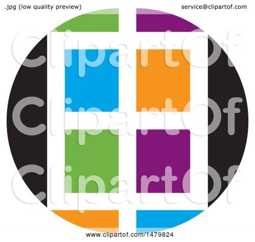 small resolution of clipart of a colorful window design royalty free vector illustration by lal perera