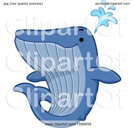 whale cute spouting illustration clipart royalty bnp studio vector clip collc0148 protected