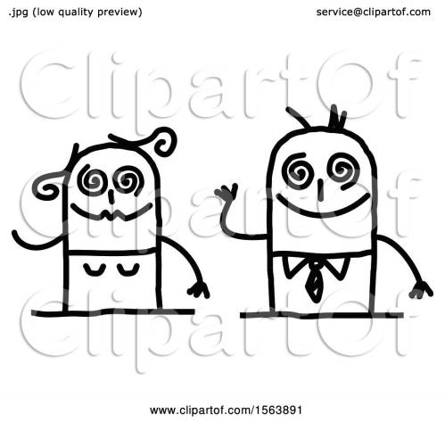 small resolution of clipart of a drunk stick couple royalty free vector illustration by nl shop
