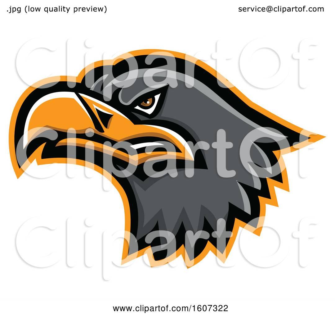 hight resolution of clipart of a eurasian sea eagle mascot head royalty free vector illustration by patrimonio