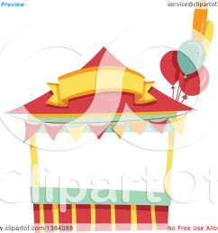clipart of a festival carnival booth stand royalty free vector illustration by bnp design studio [ 1080 x 1024 Pixel ]