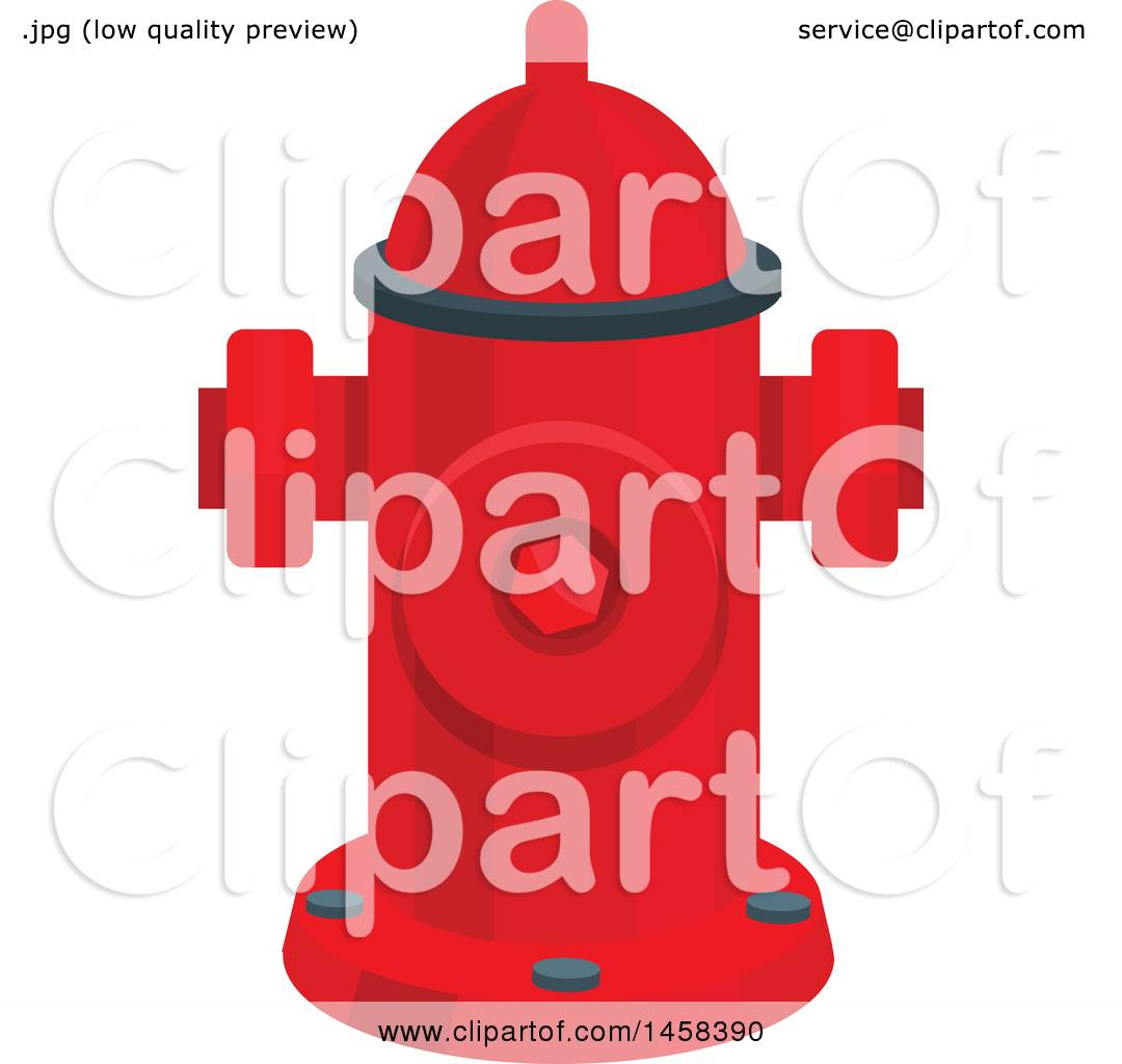 hight resolution of clipart of a fire hydrant royalty free vector illustration by vector tradition sm
