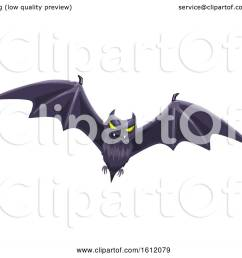 clipart of a flying bat royalty free vector illustration by vector tradition sm [ 1080 x 1024 Pixel ]
