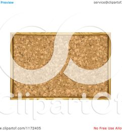 clipart of a framed cork board bulletin royalty free vector illustration by vectorace [ 1080 x 1024 Pixel ]