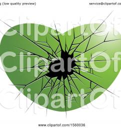 clipart of a green broken glass heart royalty free vector illustration by lal perera [ 1080 x 1024 Pixel ]