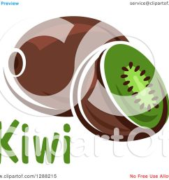 clipart of a halved and whole kiwi fruit with text royalty free vector illustration by vector tradition sm [ 1080 x 1024 Pixel ]