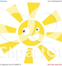 clipart of a happy sun character royalty free vector illustration by melisende vector [ 1080 x 1024 Pixel ]