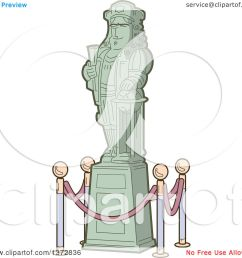 clipart of a historical statue of christopher columbus royalty free vector illustration by clip art mascots [ 1080 x 1024 Pixel ]