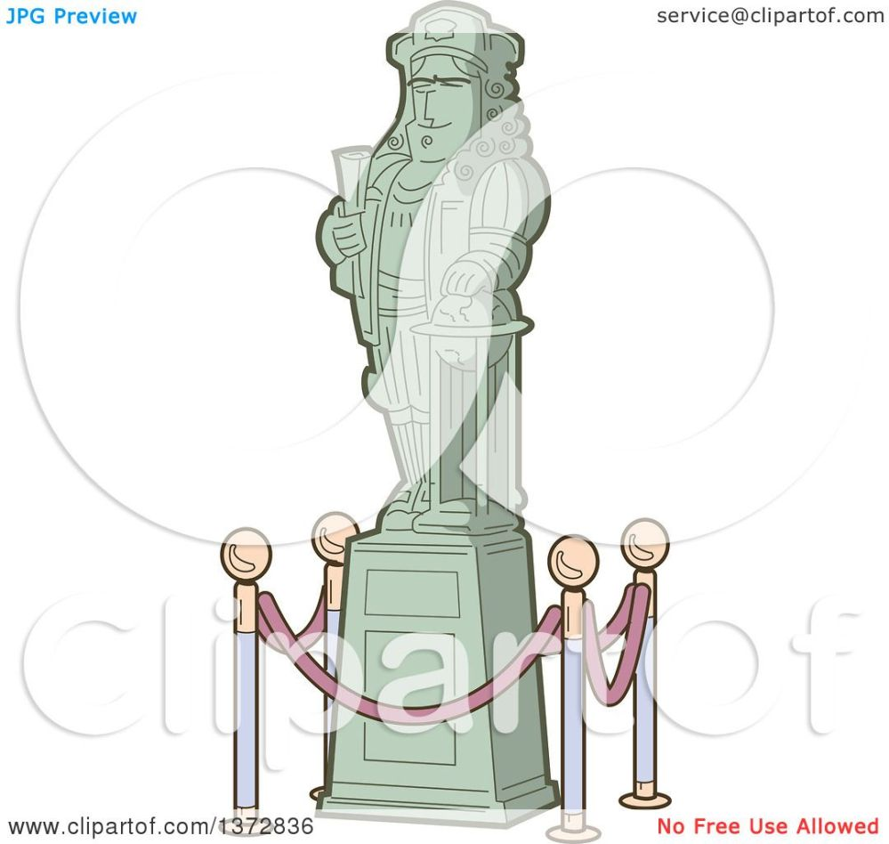 medium resolution of clipart of a historical statue of christopher columbus royalty free vector illustration by clip art mascots