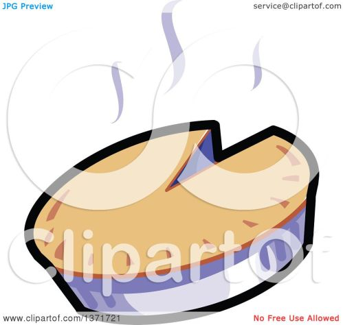 small resolution of clipart of a hot pie royalty free vector illustration by clip art mascots