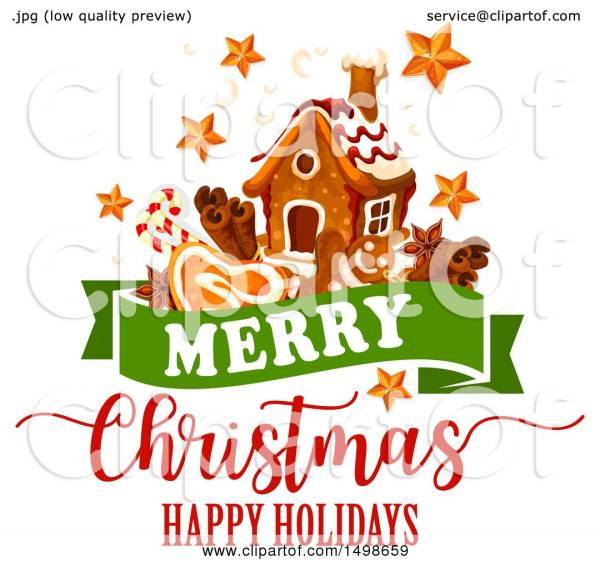 clipart of merry christmas happy
