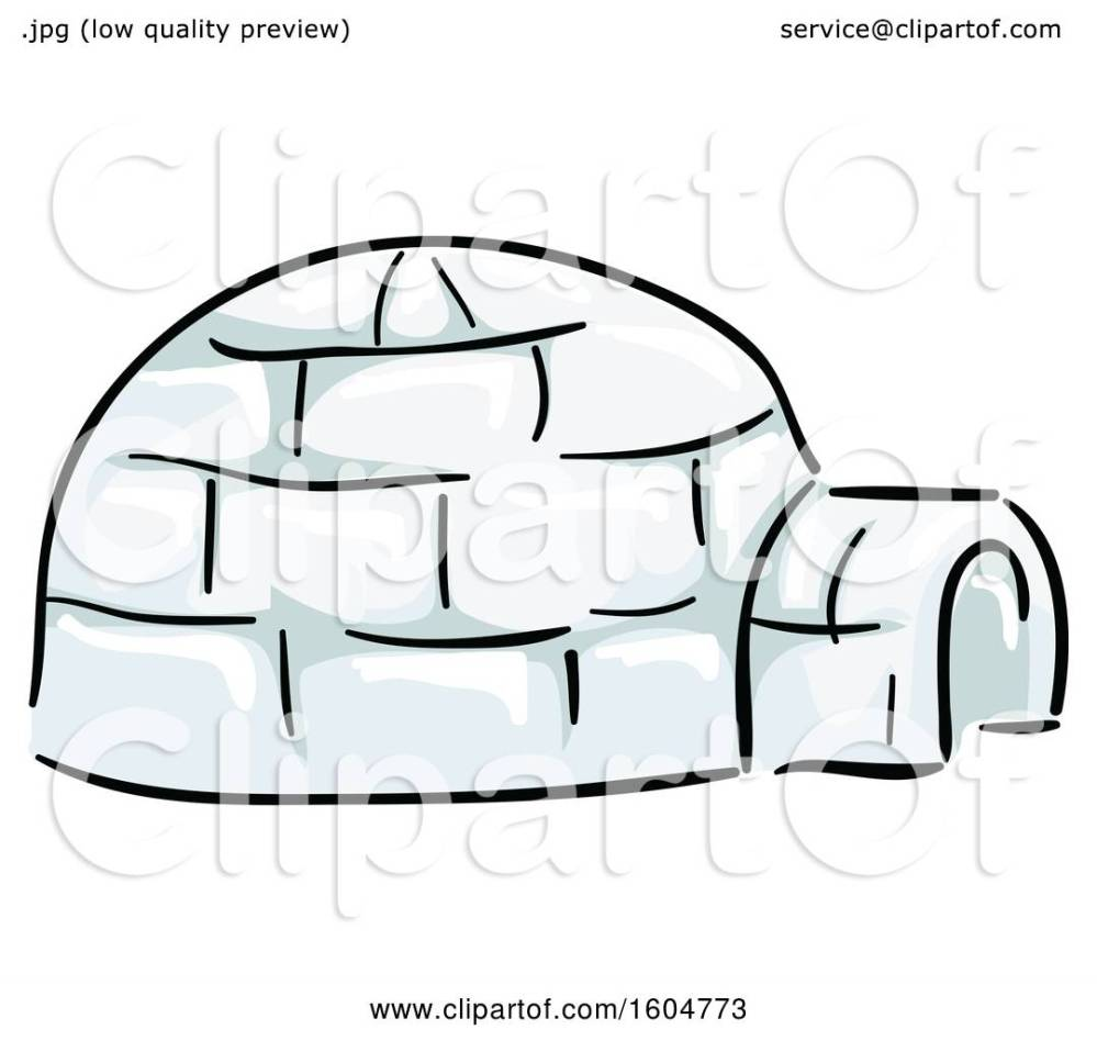 medium resolution of clipart of a native american igloo dwelling royalty free vector illustration by bnp design studio