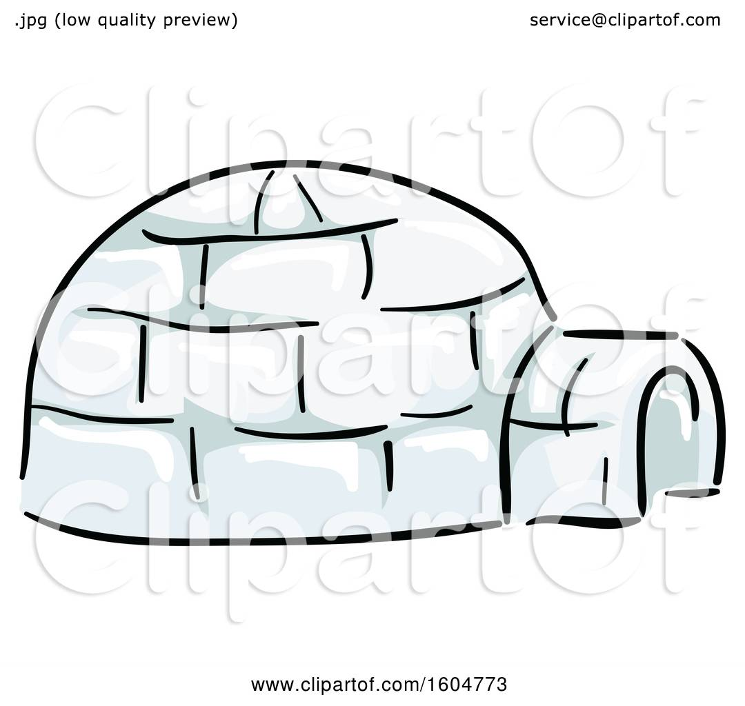 hight resolution of clipart of a native american igloo dwelling royalty free vector illustration by bnp design studio