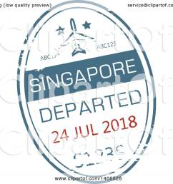 clipart of a passport stamp design royalty free vector illustration by vector tradition sm [ 1080 x 1024 Pixel ]