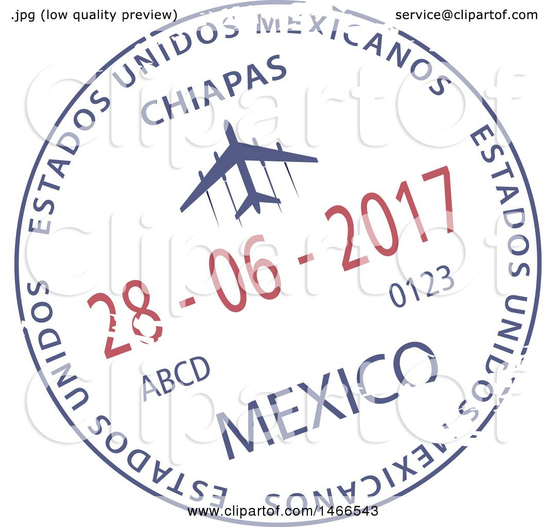 hight resolution of clipart of a passport stamp design royalty free vector illustration by vector tradition sm