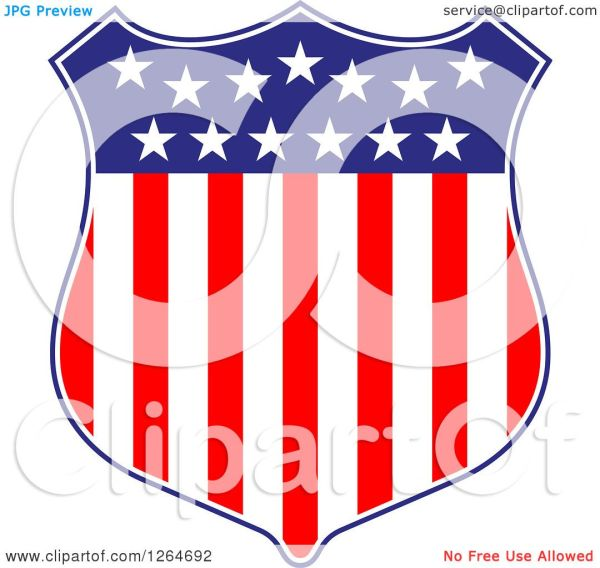 clipart of patriotic american