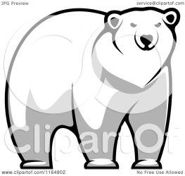 bear polar clipart vector illustration royalty graphics seamartini tradition sm copyright regarding notes clipartof