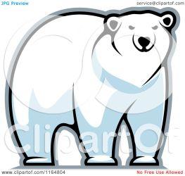 polar bear clipart vector illustration royalty tradition sm graphics copyright seamartini regarding notes