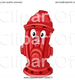 clipart of a red fire hydrant mascot royalty free vector illustration by bnp design studio [ 1080 x 1024 Pixel ]