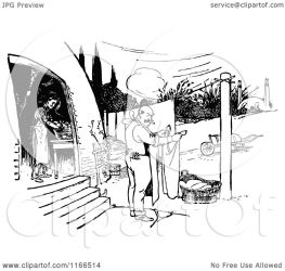 laundry doing clipart retro vector illustration royalty prawny without