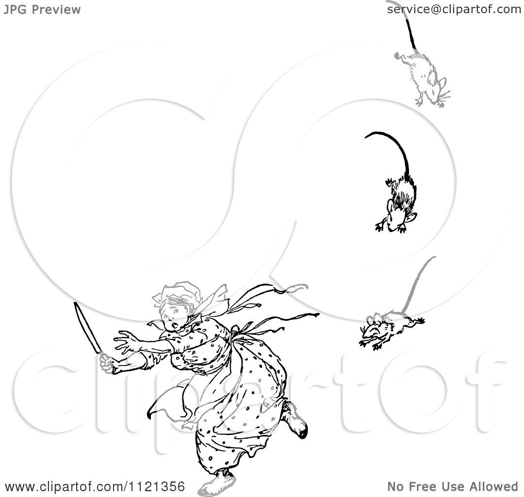 Seven Blind Mice Page Coloring Pages