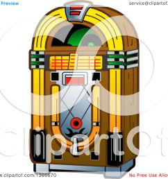 clipart of a retro vintage jukebox machine royalty free vector illustration by  [ 1080 x 1024 Pixel ]