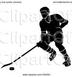 clipart of a silhouetted black and white ice hockey player royalty free vector illustration by [ 1080 x 1024 Pixel ]