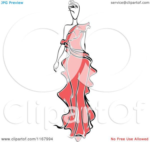 Free Clip Art Fashion Models