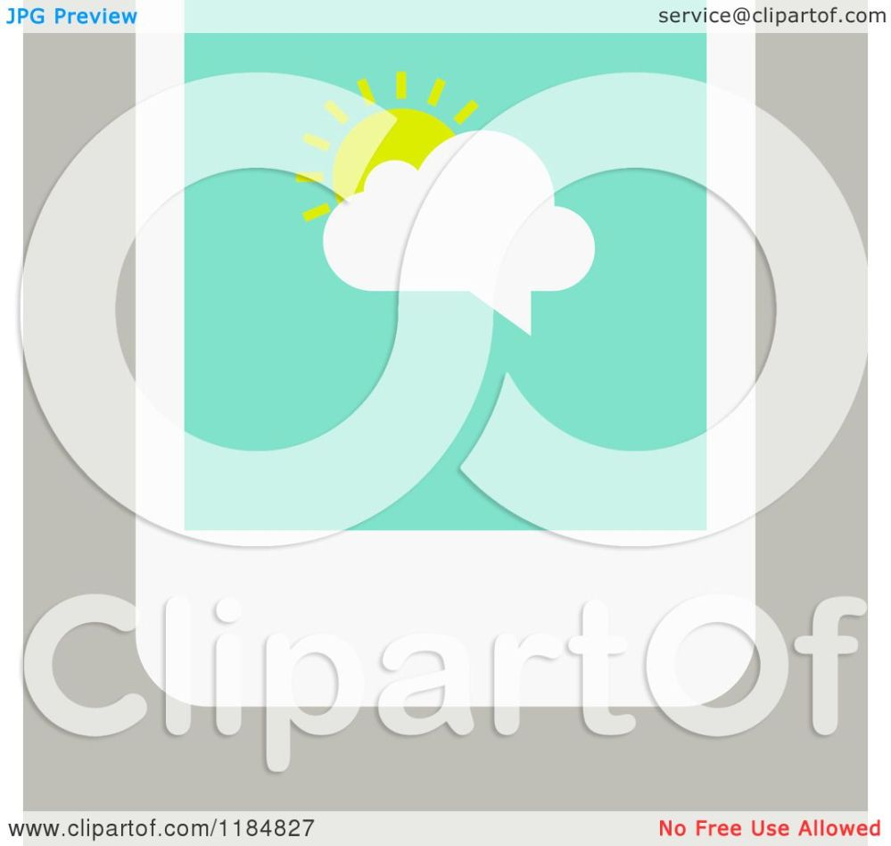 medium resolution of clipart of a smart phone with a sun and cloud chat balloon on the screen over tan royalty free vector illustration by elena