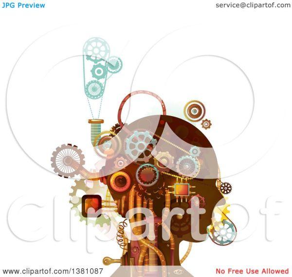 Mechanical Steampunk Gear Clip Art