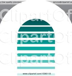 clipart of a striped turquoise and gray letter a logo royalty free vector illustration by cidepix [ 1080 x 1024 Pixel ]